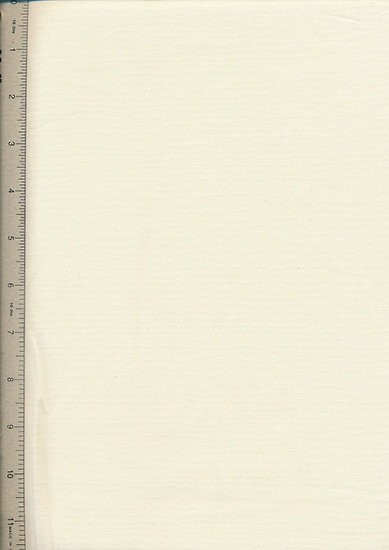 Plain Cotton Fabric - 12 Cream