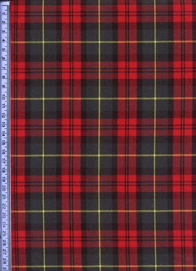 Red & Green Tartan - Tartans