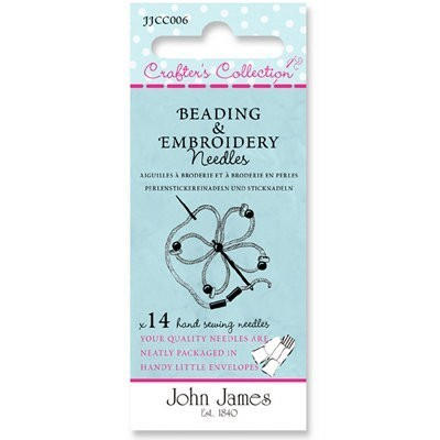 John James 14 x Beading & Embroidery Assortment