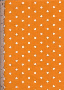 Je Ne Sais Quoi - Polka Dot Orange