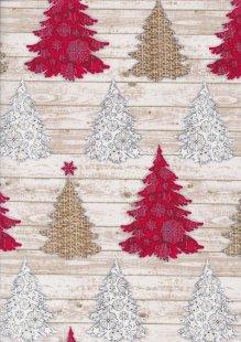 "Rose & Hubble 54"" Wide Christmas Fabric - 3"