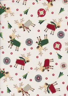 "Rose & Hubble 54"" Wide Christmas Fabric - 6"