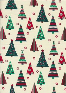 "Rose & Hubble 54"" Wide Christmas Fabric - 8"
