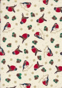 "Rose & Hubble 54"" Wide Christmas Fabric - 14"