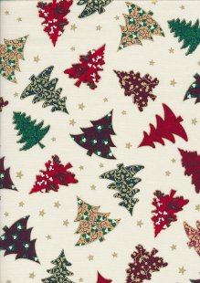 "Rose & Hubble 54"" Wide Christmas Fabric - 15"