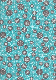 "Rose & Hubble 54"" Wide Christmas Fabric - 23"