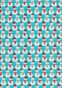 "Rose & Hubble 54"" Wide Christmas Fabric - 24"