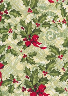 "Rose & Hubble 54"" Wide Christmas Fabric - 25"
