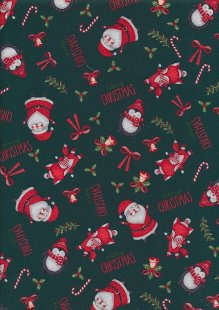 "Rose & Hubble 54"" Wide Christmas Fabric - 27"