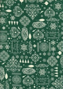 "Rose & Hubble 54"" Wide Christmas Fabric - 30"