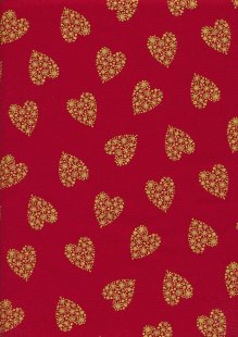 "Rose & Hubble 54"" Wide Christmas Fabric - 54"