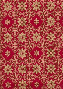 "Rose & Hubble 54"" Wide Christmas Fabric - 60"