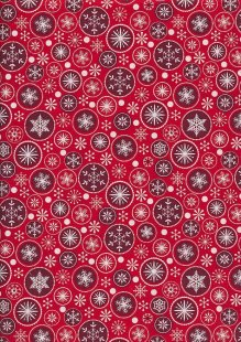 "Rose & Hubble 54"" Wide Christmas Fabric - 66"