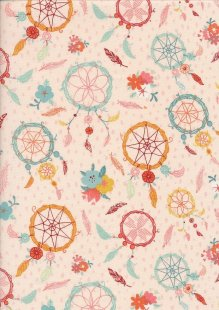Craft Cotton Co - Dream Catcher Pink