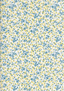 Je Ne Sais Quoi - Aster Blue & Yellow