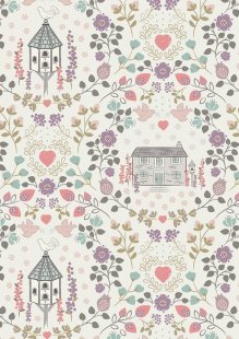 Lewis & Irene - Dove House A165.1 - Dove house on light cream