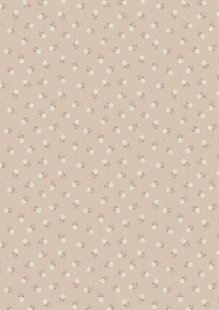 Lewis & Irene - Flo's Little Florals FLO1.5 - Natural Tiny Flower