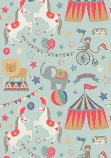 Lewis & Irene - Vintage Circus A141.2 The big top blue