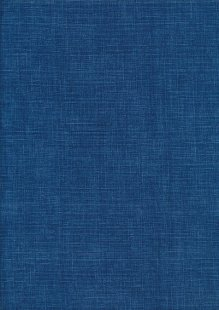 Sevenberry Japanese Linen Look Cotton - Plain Royal Blue