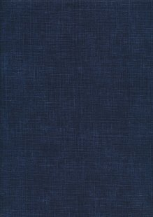 Sevenberry Japanese Linen Look Cotton - Plain Navy Blue