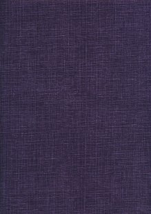 Sevenberry Japanese Linen Look Cotton - Plain Purple
